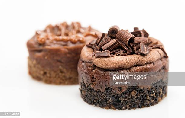 Mini cheesecakes de Chocolate