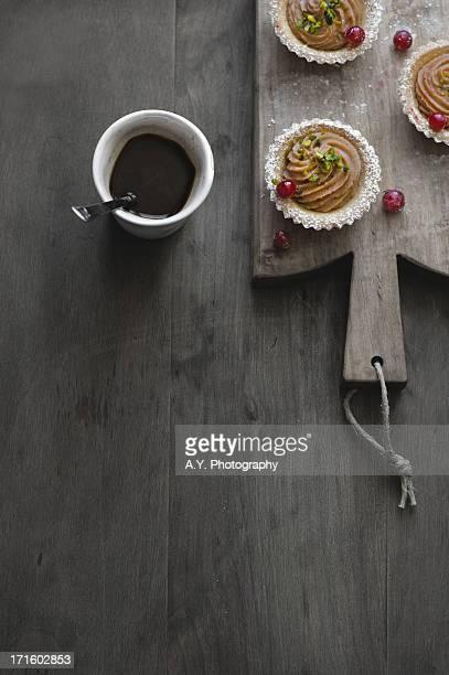 Mini Chocolate Custard Tarts