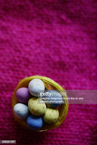 mini chocolate eggs - gregoria gregoriou crowe fine art and creative photography. stock pictures, royalty-free photos & images