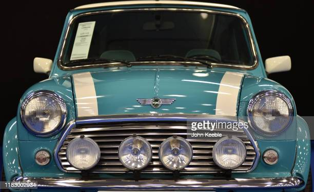 Mini Cooper £15000 £20000 on display during the RM Sotherb's London European car collectors event at Olympia London on October 23 2019 in London...