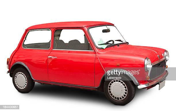 mini cooper 60's - mini cooper stock pictures, royalty-free photos & images