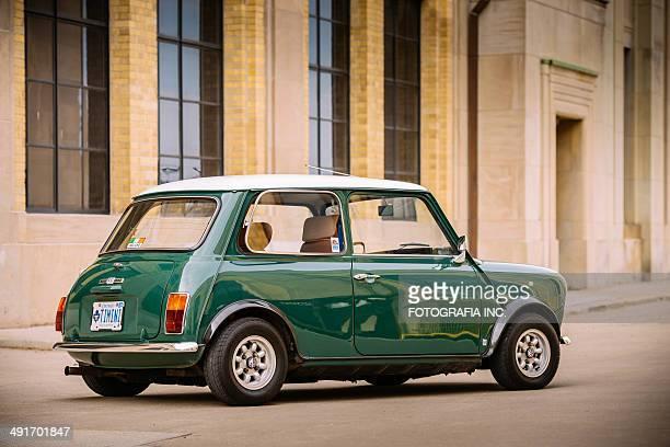 Mini Cooper Classic in spring time
