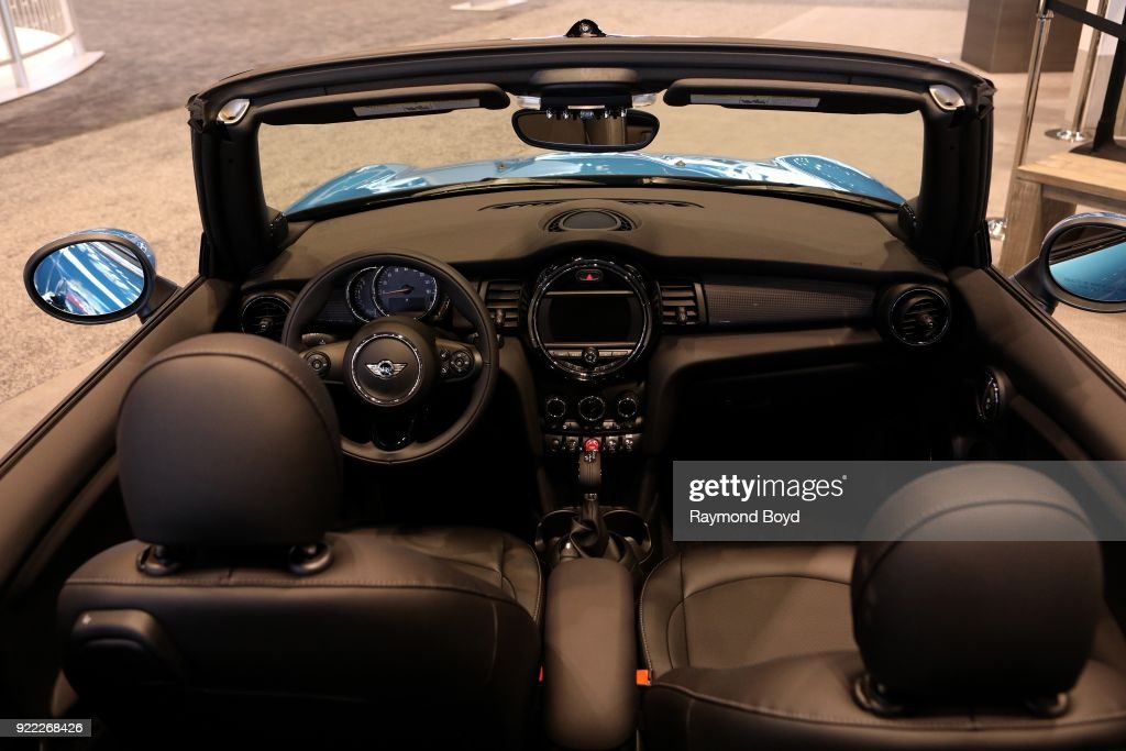Mini Cooper Convertible is on display at the 110th Annual Chicago Auto Show at McCormick Place in Chicago, Illinois on February 9, 2018.