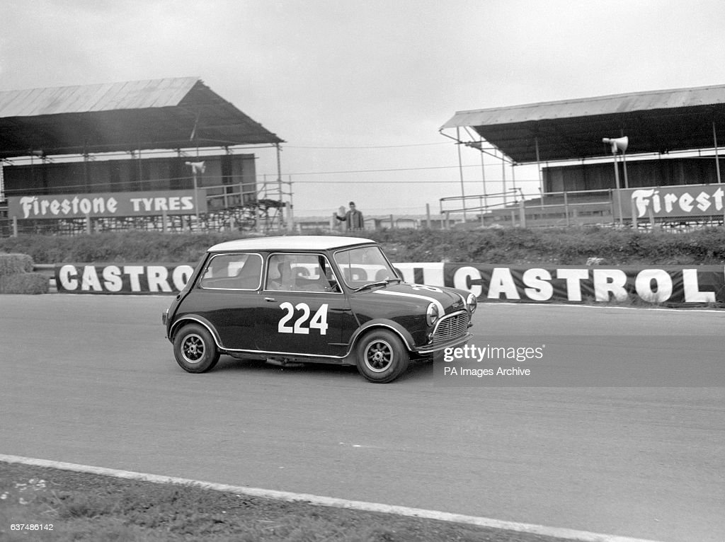 A Mini Cooper Is Driven At Brands Hatch News Photo Getty Images