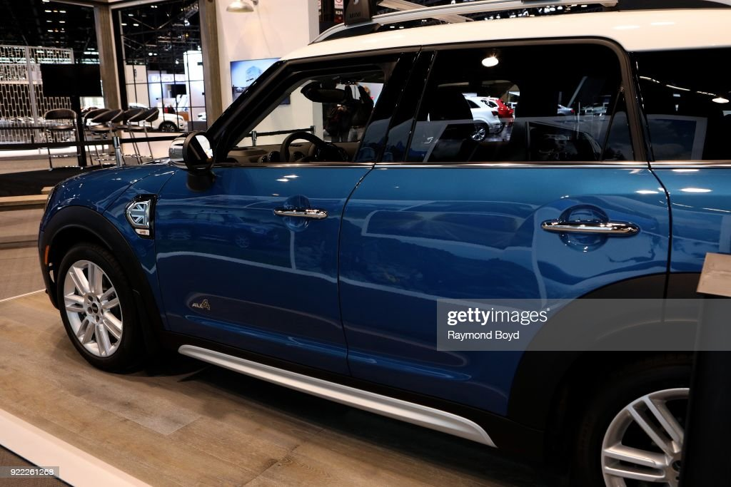 Mini Cooper S Countryman All4 is on display at the 110th Annual Chicago Auto Show at McCormick Place in Chicago, Illinois on February 9, 2018.