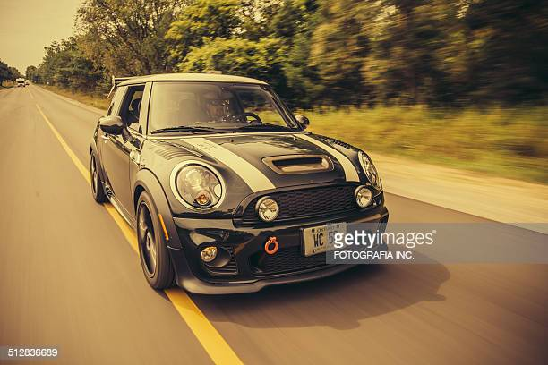 mini cooper s  wc50 edition - mini cooper stock pictures, royalty-free photos & images