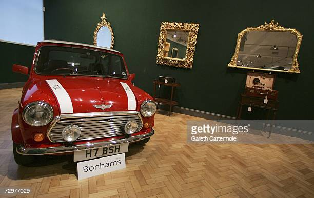 Mini forms part of an auction titled 'What Women Want' at Bonhams auction house on January 11 2007 in London England Breast Cancer charity HAVEN have...