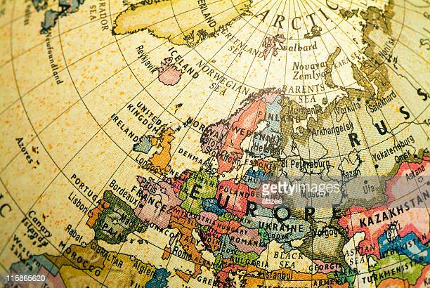 Mini planeta Europa y Rusia