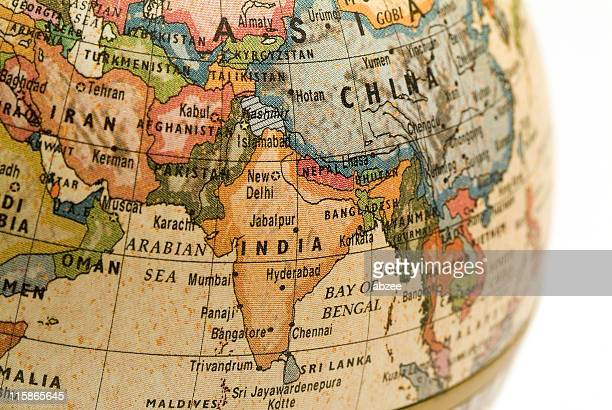 Mini Globe India