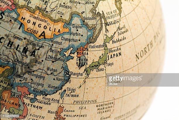 Mini Globe Japan