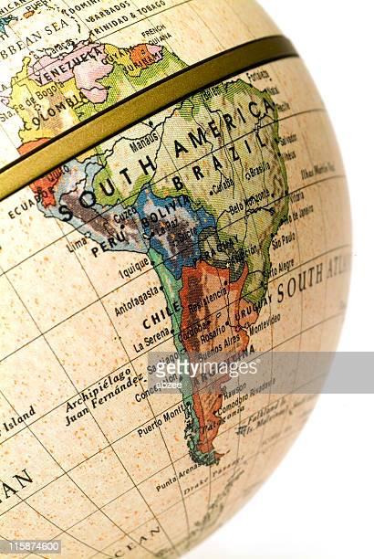 Mini Globe South America (Request)