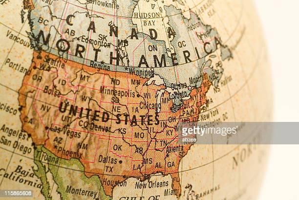 Mini Globe USA Chicago