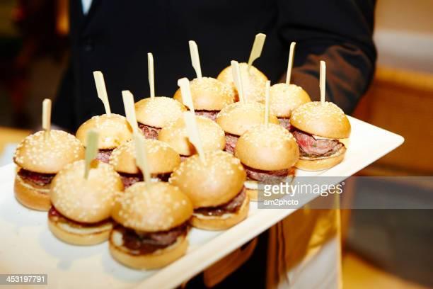 Mini hamburguers
