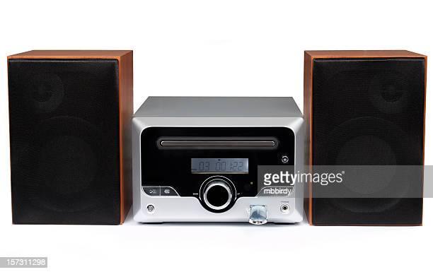 cd mp 3 ミニ hi -fi システム(絶縁) - ipod ストックフォトと画像