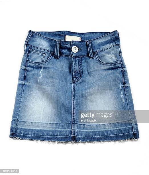 Jeans-Mini-Rock