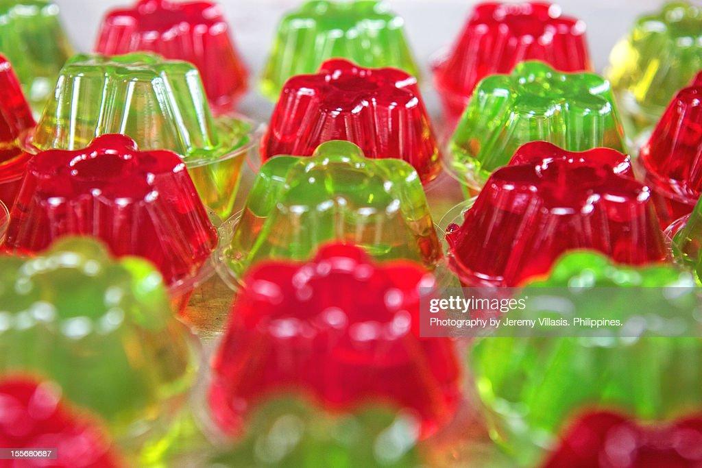 Mini Jelly Dessert : Stock Photo