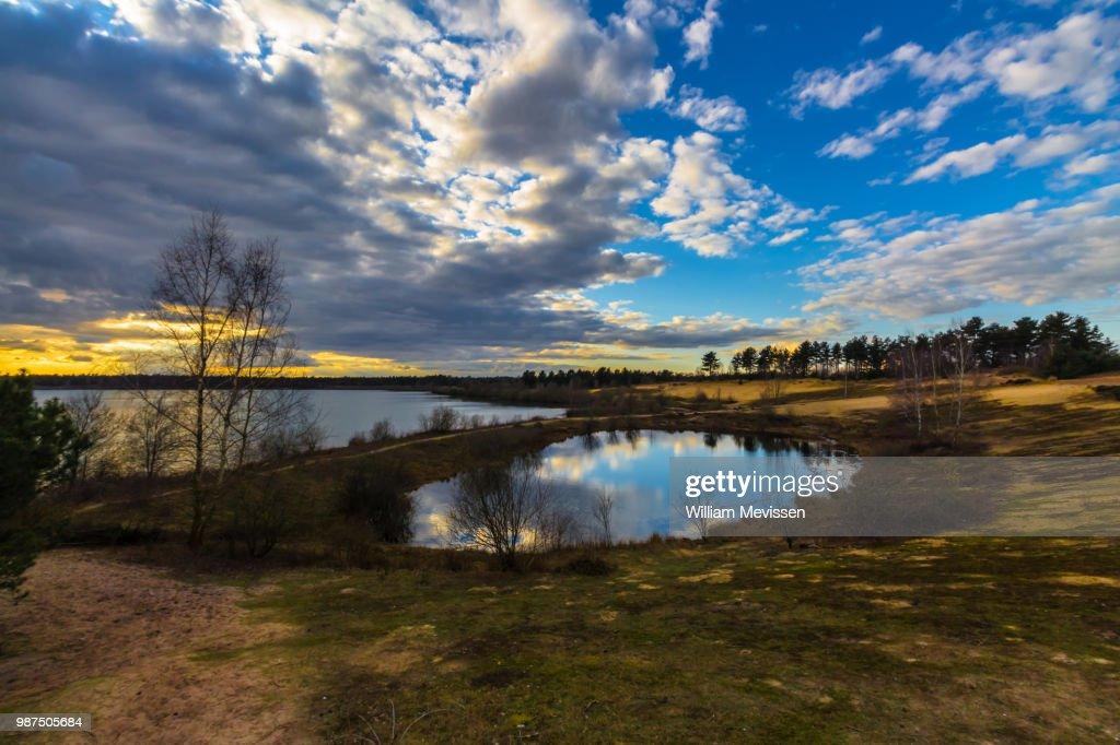Mini Lake : Stockfoto
