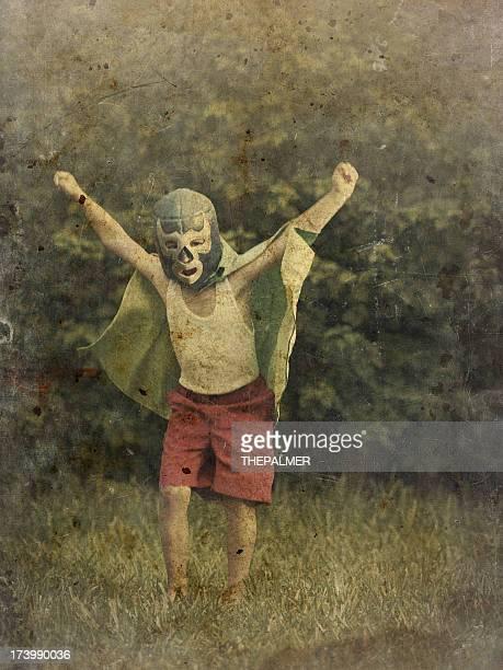 mini luchador mexicaine