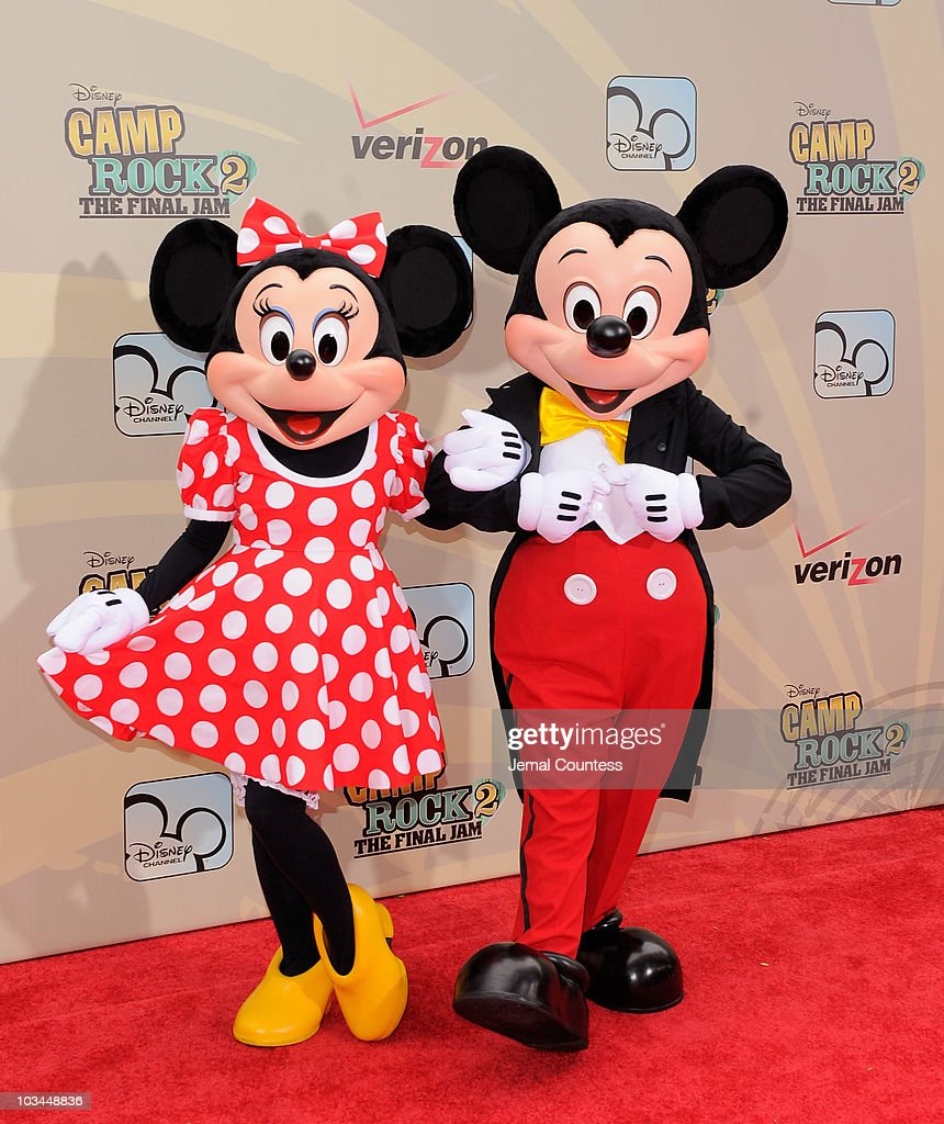 """Disney Info Sites: Mini Mouse And Mickey Mouse Attend The Premiere Of """"Camp"""