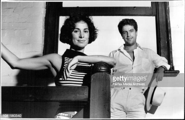 Mini Series Stars Peta Toppano and Joe Spano who feature as Italian immigrants in Fields of Fire II December 16 1987