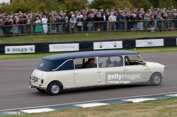 Mini stretch limousine at 2009 Goodwood revival meeting