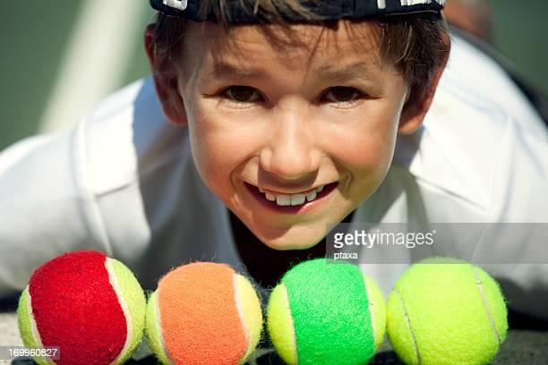 Mini tennis player