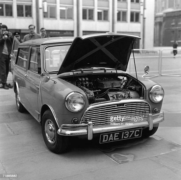 Mini Traveller with an electric engine, 21st March 1966.