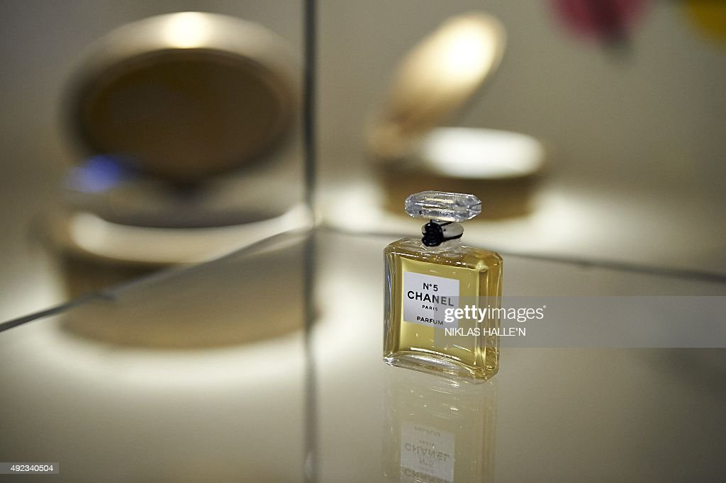 A Miniature Bottle Of Chanel No 5 Perfume Forms Part Of An News