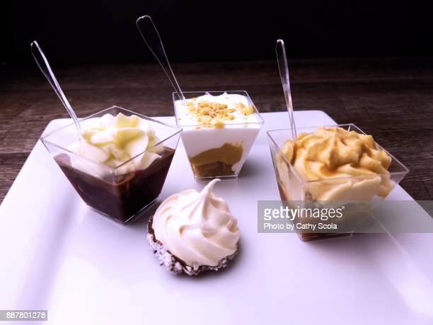 Miniature desserts