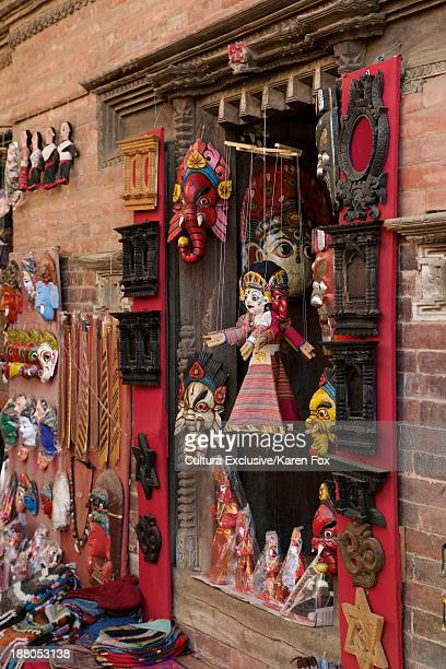miniature dolls for festivals, kathmandu, nepal - dolly fox stock pictures, royalty-free photos & images