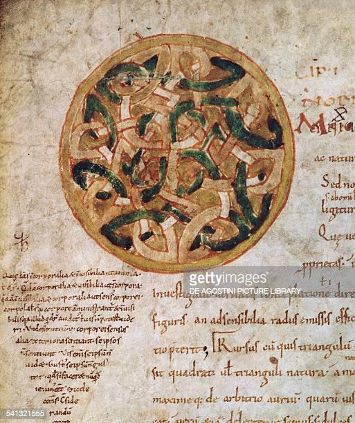 Miniature from De institutione musica by Boethius Italy 6th century Milan Biblioteca Ambrosiana