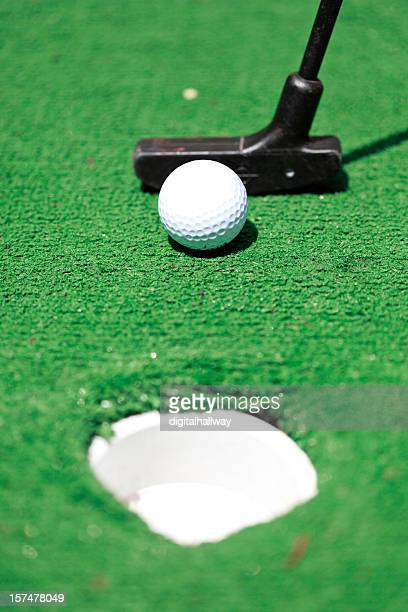 Miniature Golf Putting