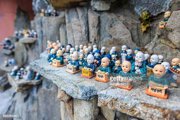 miniature of buddha - busan stock pictures, royalty-free photos & images