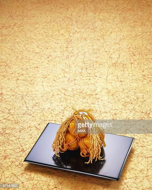 Miniature of rice bale