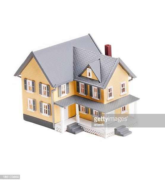 Miniatur-Kunststoff Model Home