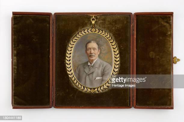 Miniature Portrait of John Feeney, 1907. John Feeney was a proprietor of the Birmingham Post newspaper and philanthropist. In his will, he left most...