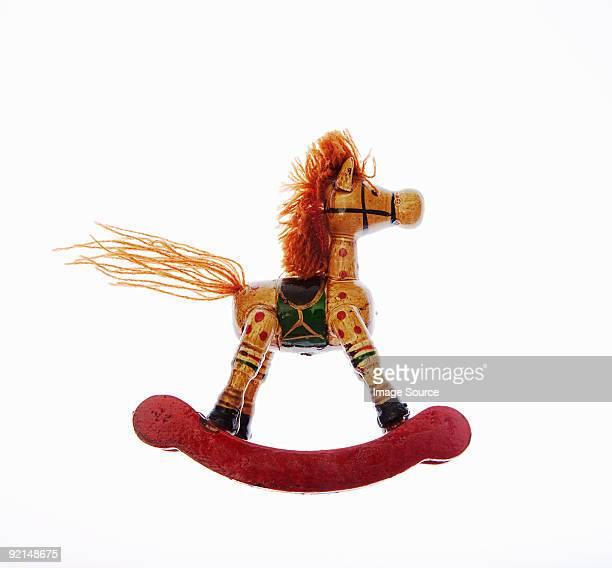 Miniature Cheval à bascule