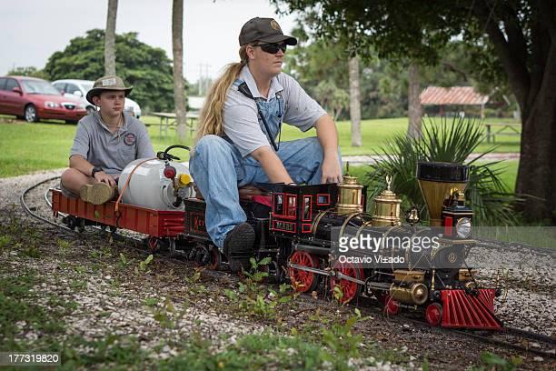 CONTENT] Miniature train ride Tradewinds Atlantic Railroad Live Steamer