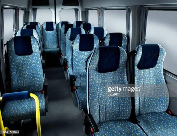 Minibus passenger compartment