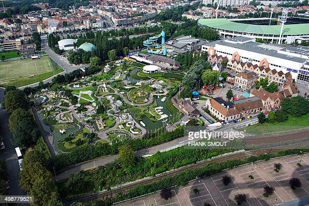 Mini-Europe is a miniature park located in Brupark at the foot of the Atonium in Brussels. Mini-Europe has reproductions of monuments in the European...