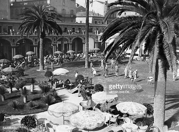 Minigolfplatz in Cannes 1927