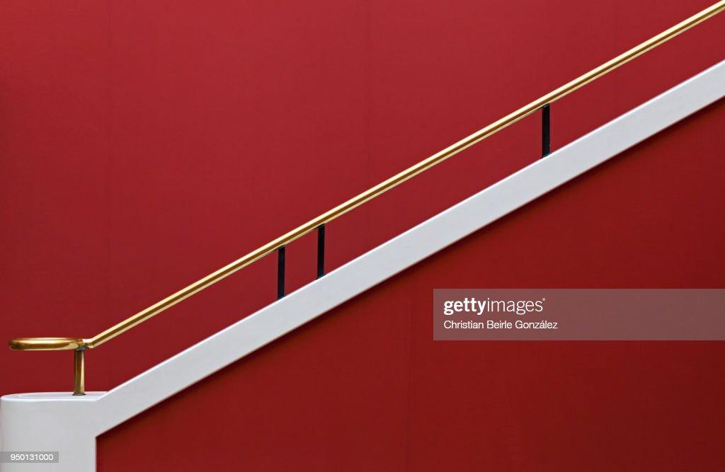 Minimalism in Red : Stock-Foto