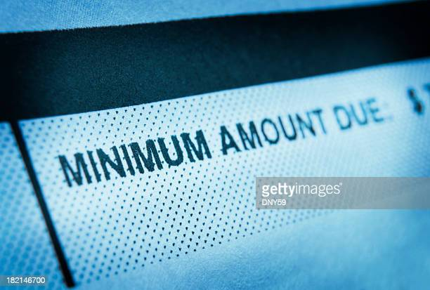 minimum amount due - paid stock pictures, royalty-free photos & images