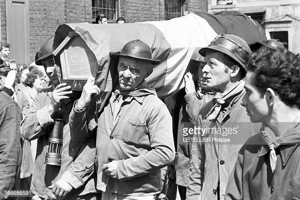 Mining Disaster In Marcinelle Près de Charleroi en Belgique la tragédie à la mine du Bois du Cazier à Marcinelle où le 8 août 1956 261 mineurs sont...