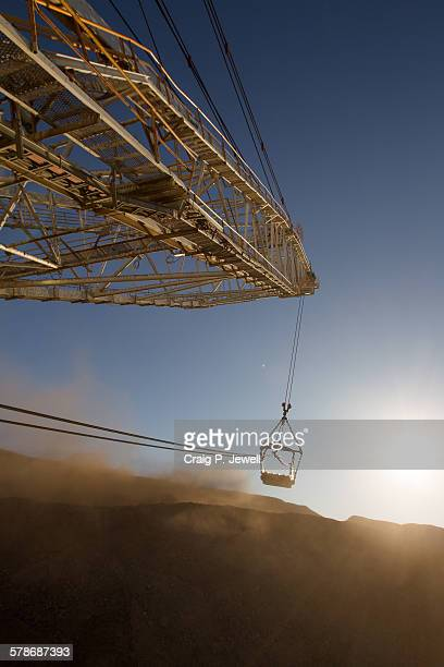 Mining Dragline in Action on a Coal Mine