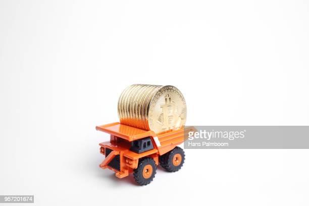 Mining Truck Full of Bitcoins