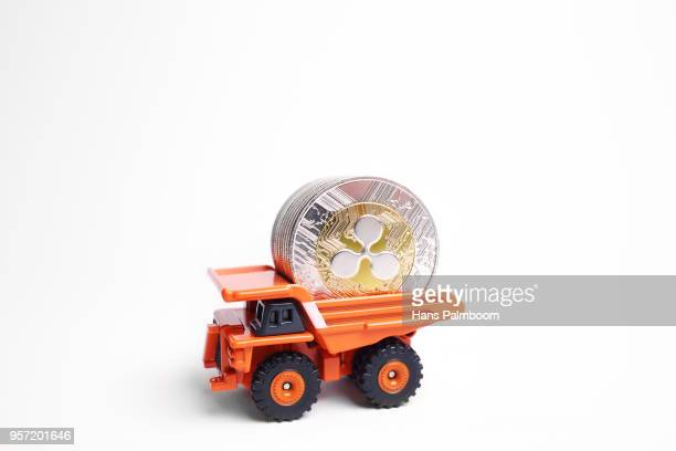 Mining Truck Full of Ripple XRP Coins