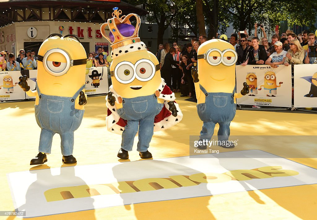 """Minions"" - World Premiere - Red Carpet Arrivals : News Photo"