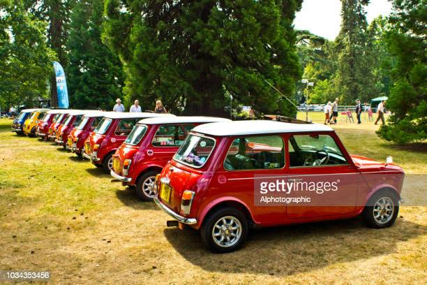 minis - mini cooper stock pictures, royalty-free photos & images