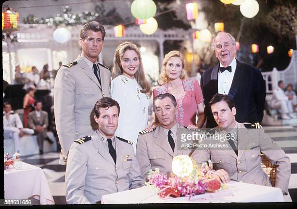 November 13 15 through 17 20 and 23 1988 / May 7 through 10 and 14 1989 SEATED MICHAEL WOODSROBERT MITCHUMHART BOCHNER STANDING BARRY